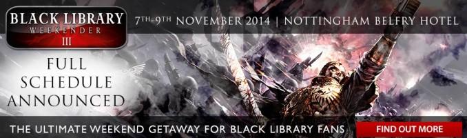 Black Library Weekender III