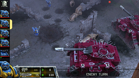 301733-warhammer-40-000-squad-command-psp-screenshot-two-chaos-tanks